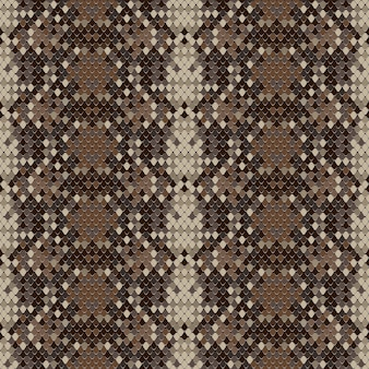 Бесшовный узор змеиной кожи векторное изображение