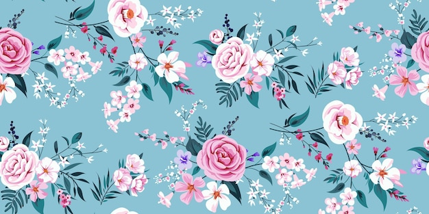꽃 모티브로 완벽 한 봄 배경