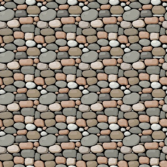 Seamless stone wall pattern