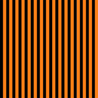 Seamless striped halloween background in orange and black . vector