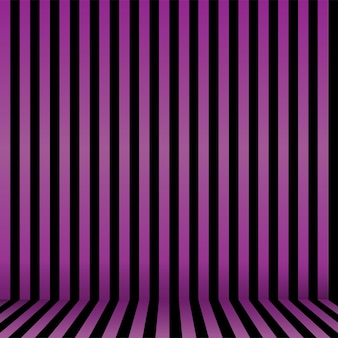 Seamless striped halloween background in purple and black . vector