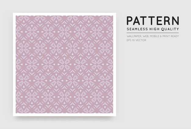 Seamless  style abstract pattern