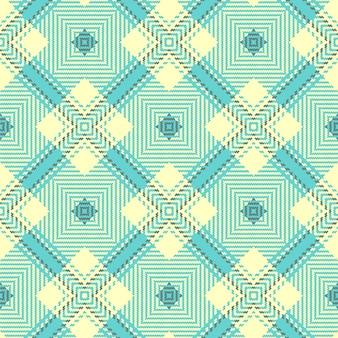 シームレスなタータンパターン。スコットランドの織りのテクスチャ。