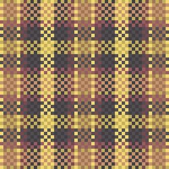シームレスなタータンチェック柄パターン背景テキスタイルテクスチャベクトルイラスト