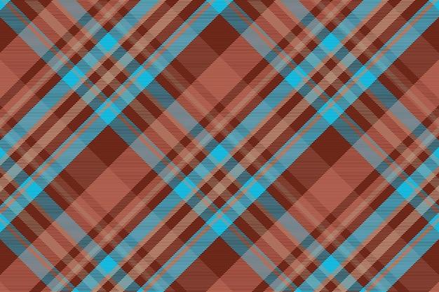 Seamless tartan plaid pattern background textile texture vector illustration