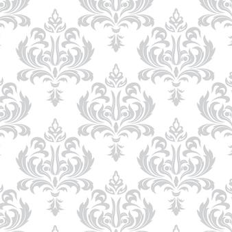 バロック様式のシームレスなテクスチャの壁紙。背景やページ塗りつぶしのwebデザインに使用できます。