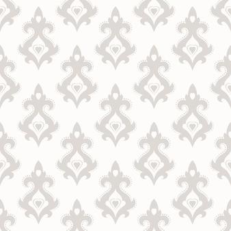 Бесшовные текстуры обоев в стиле барокко.