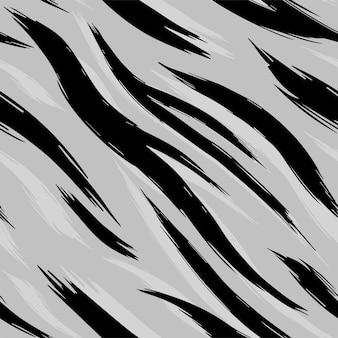 シームレステクスチャホワイトタイガースキン。パターン。