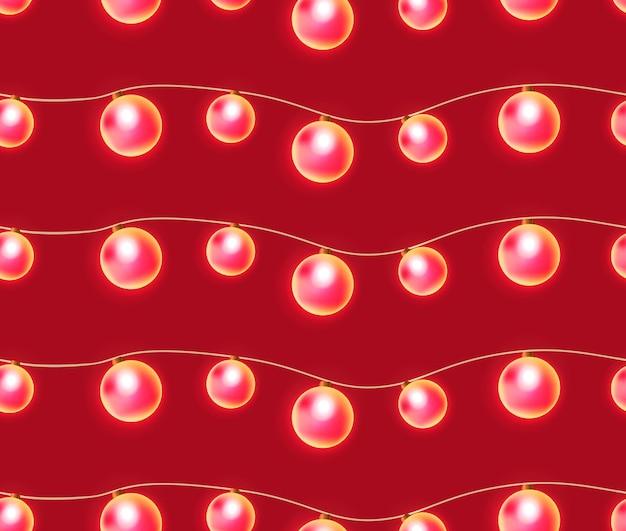 빛의 축제 화환으로 완벽 한 텍스처입니다. 창의력을 위한 벡터 요소
