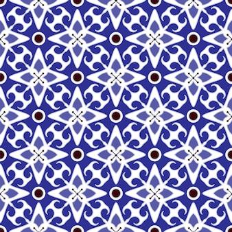 Seamless tile pattern design