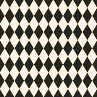 ハーレクインパターンデザインのシームレスなタイル張りの背景