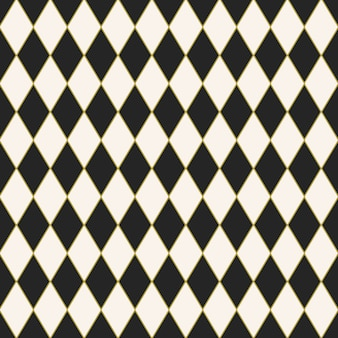 Seamless tiled background with a harlequin pattern design