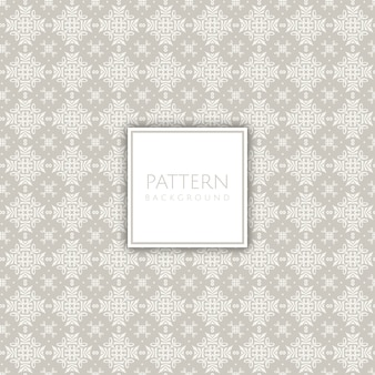 Seamless tiled decorative pattern background