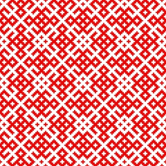 Seamless traditional russian and slavic pattern
