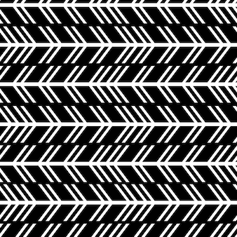 Seamless trendy arrow pattern with modern stripes