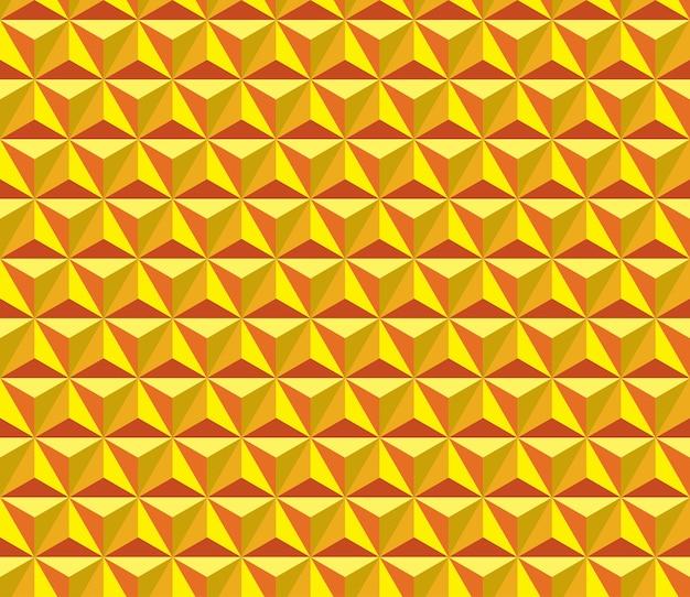 Seamless triangle cube pattern.