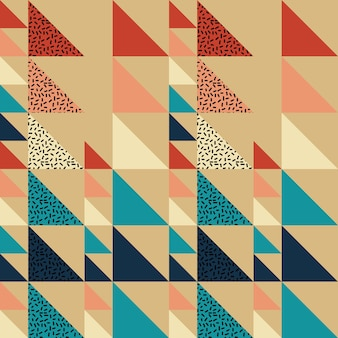 Seamless triangle pattern abstract background