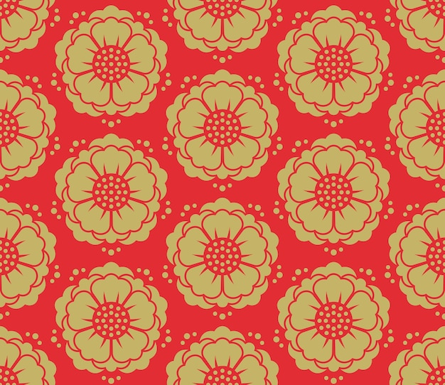 원활한 벡터 한국 패턴