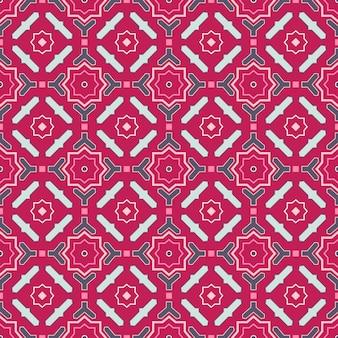 東洋の飾りとのシームレスなベクターパターン。