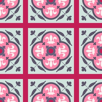 Seamless vector pattern with oriental ornament.
