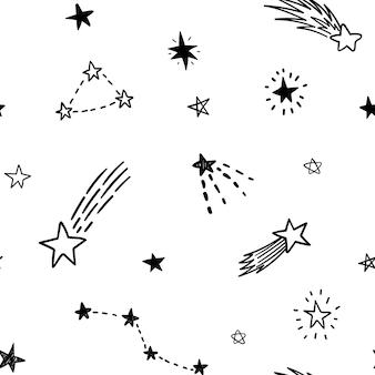 별 원활한 벡터 패턴