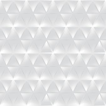 シームレスな白い3dパターン