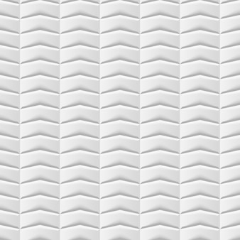 シームレスな白い幾何学的背景