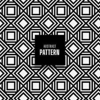 Seamless white geometric square patterned background