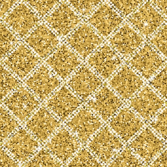 Seamless yellow gold glitter texture