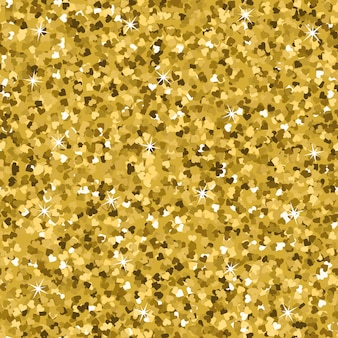 Seamless yellow gold glitter texture.