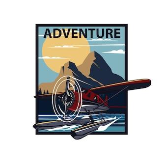 Seaplane adventure on the island