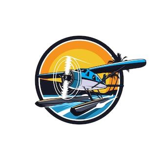Seaplane in a circle