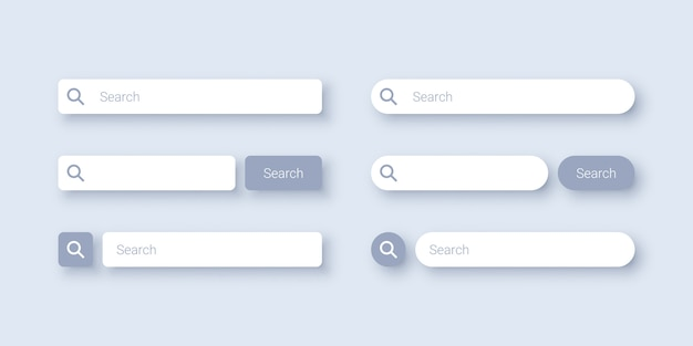 Search bar template design