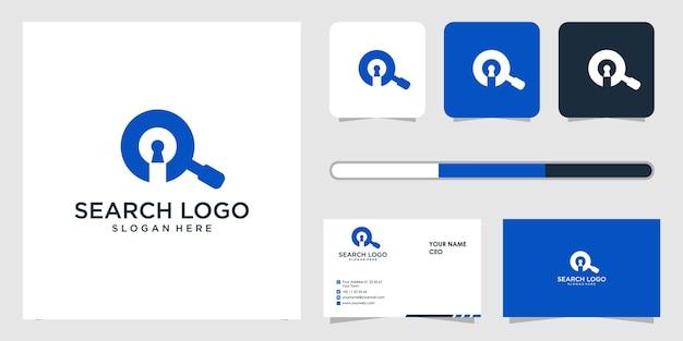 ロゴデザインと名刺テンプレートを検索
