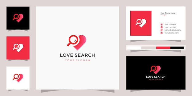 사랑 로고 및 명함 서식 파일 검색