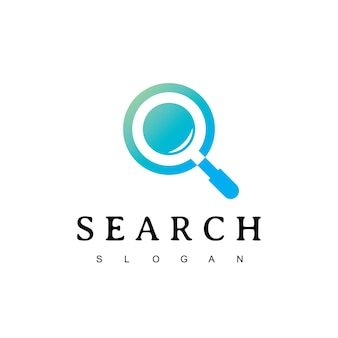 Search magnifying logo