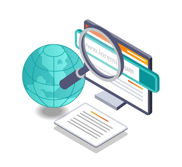 Search for scientific data and information on the internet