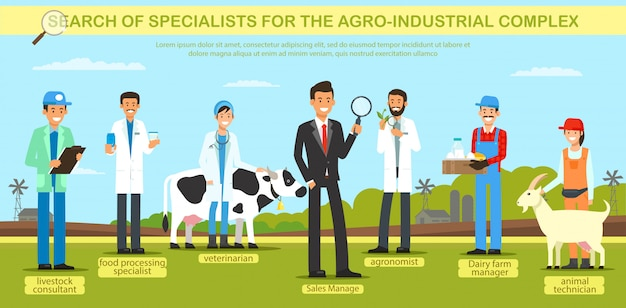 Search specialist for the agro industrial complex