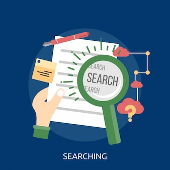 Searching background design