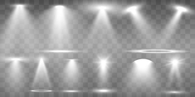 Коллекция прожекторов для сценического освещения