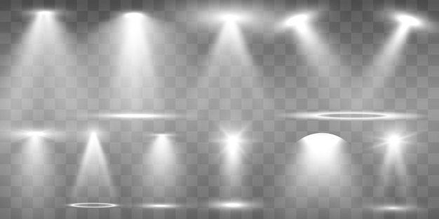 Searchlight collection for stage lighting
