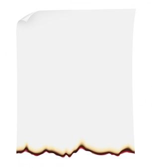 Searing paper vector illustration