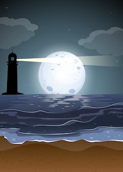 夜景の海景