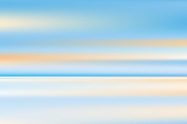 海景、背景をぼかし、未来的な壁紙、抽象的なデザイン。