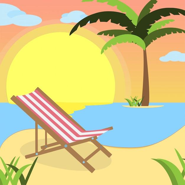 Seaside view poster
