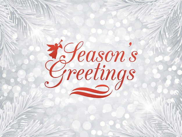 Season's greetings background