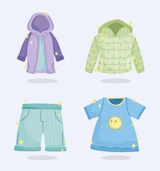 Season weather clothes