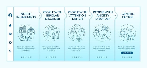 계절성 정서 장애 위험 그룹 온 보딩 템플릿