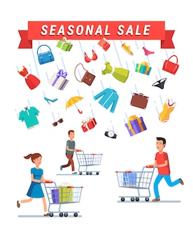 Seasonal sale advert banner