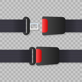 Seat belt. safety belt of movement on car
